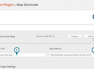 Map Shortcode