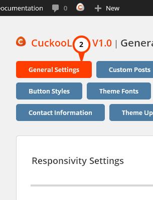 CuckooLove General Settings