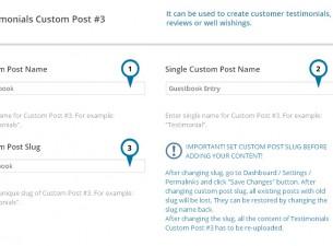Custom Posts