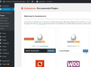 Navigate to CuckooCore → Plugins and make sure you've activated recommended plugins